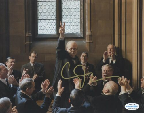 Gary Oldman Churchill Autographed Signed 8x10 Photo ACOA 2020-1
