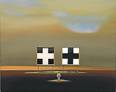 Robert Deyber - Double Crossed, hand-signed lithograph