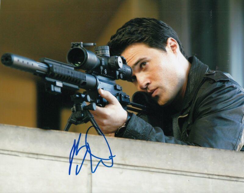 BRETT DALTON signed (AGENTS of S.H.I.E.L.D) 8X10 photo *GRANT WARD* W/COA #1