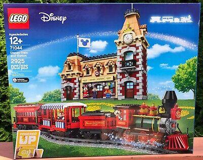 New Disney Mickey Train & Station Lego # 71044 Factory Fresh Box & Bag Free Ship