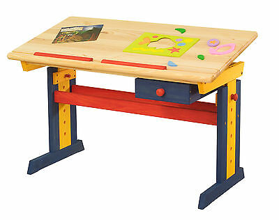 Kinderschreibtisch variabel Schreibtisch Kiefer Tisch
