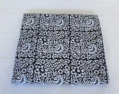 5 Yard Indian Handmade Natural Cotton Sanganeri Hand Block Print Floral Fabric