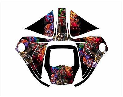 3m Speedglas 9100 V X Xx Auto Sw Jig Welding Helmet Decal Sticker Clown Faces