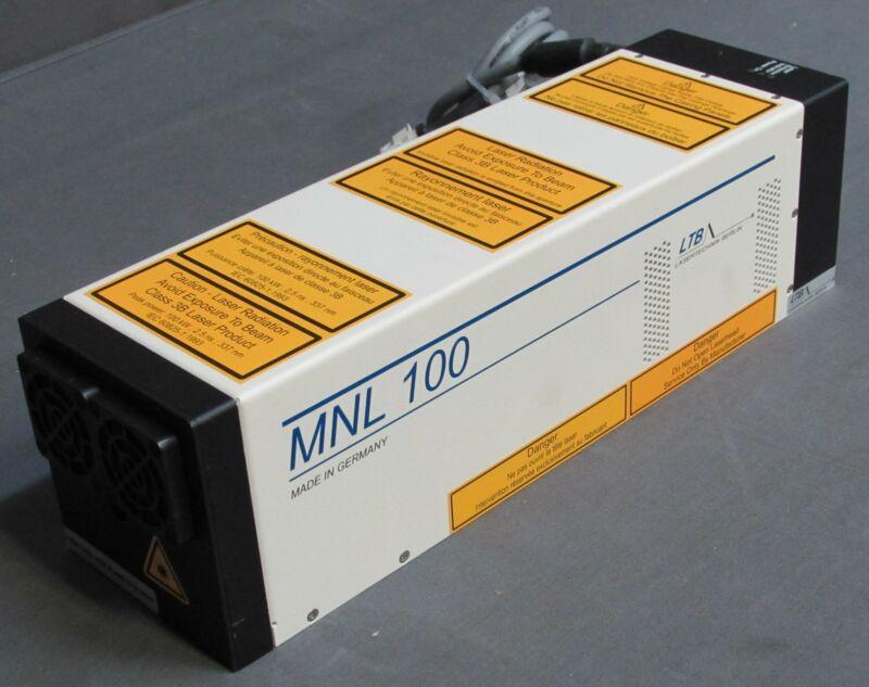 * LTB Lasertechnik Berlin MNL 100 Nitrogen Laser
