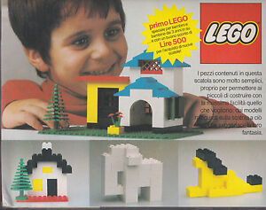 ultra rare LEGO n° 1 for Italian market only released in 1977 new unsealed - Italia - ultra rare LEGO n° 1 for Italian market only released in 1977 new unsealed - Italia