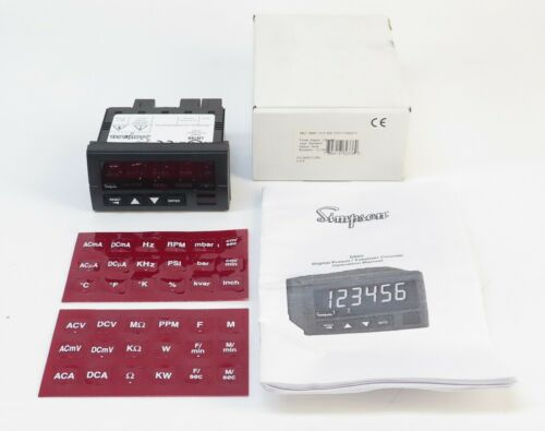 Simpson S660 Digital Preset Totalizer Counter
