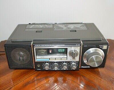 Panasonic RF-3100 FM-MW-SW 31 Band Receiver/SW Double Superheterodyne c/w Manual