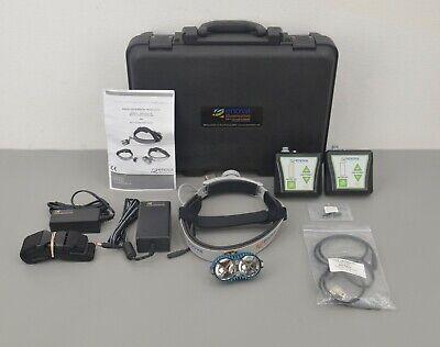 New Enova Iris D-200 Led Surgical Headlight B4x Battery Packs W Case Accs