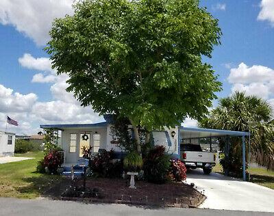 2br 1 Ba Single Wide Mobile Home Located Sebring Fl. Near Orlando And Miami.
