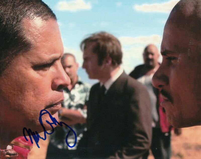 RAYMOND CRUZ signed (Breaking Bad) BETTER CALL SAUL 8X10 photo (PROOF) W/COA #2