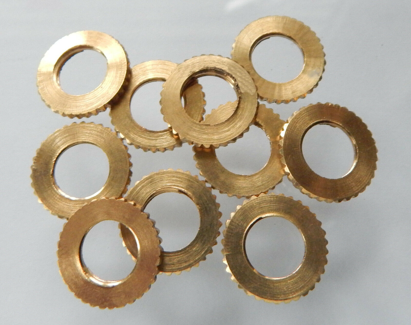 10 Stück Kontermuttern Lock Washer  BSF Gewinde