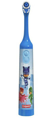 Kids Battery Powered Electric Toothbrush, PJ Masks- Catboy Blue By Colgate NEW