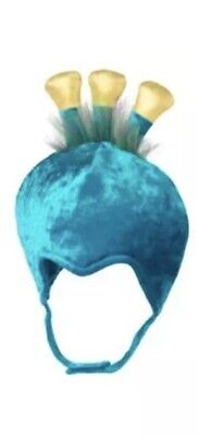 NWT Gymboree BABY PEACOCK HEADPIECE HAT Halloween Costume Accessory 2T/3T