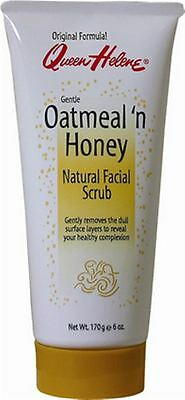 QUEEN HELENE Natural Facial Scrub, Oatmeal