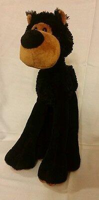 "2008 Princess Soft Toys Plush Dog Big Feet Knobby Knees 13"""