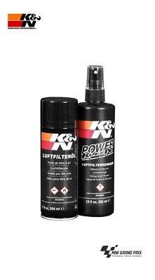K&N Reinigungsset für Sportluftfilter, Reiniger+ Öl 99-5003EU (100ml / 2,75 €)