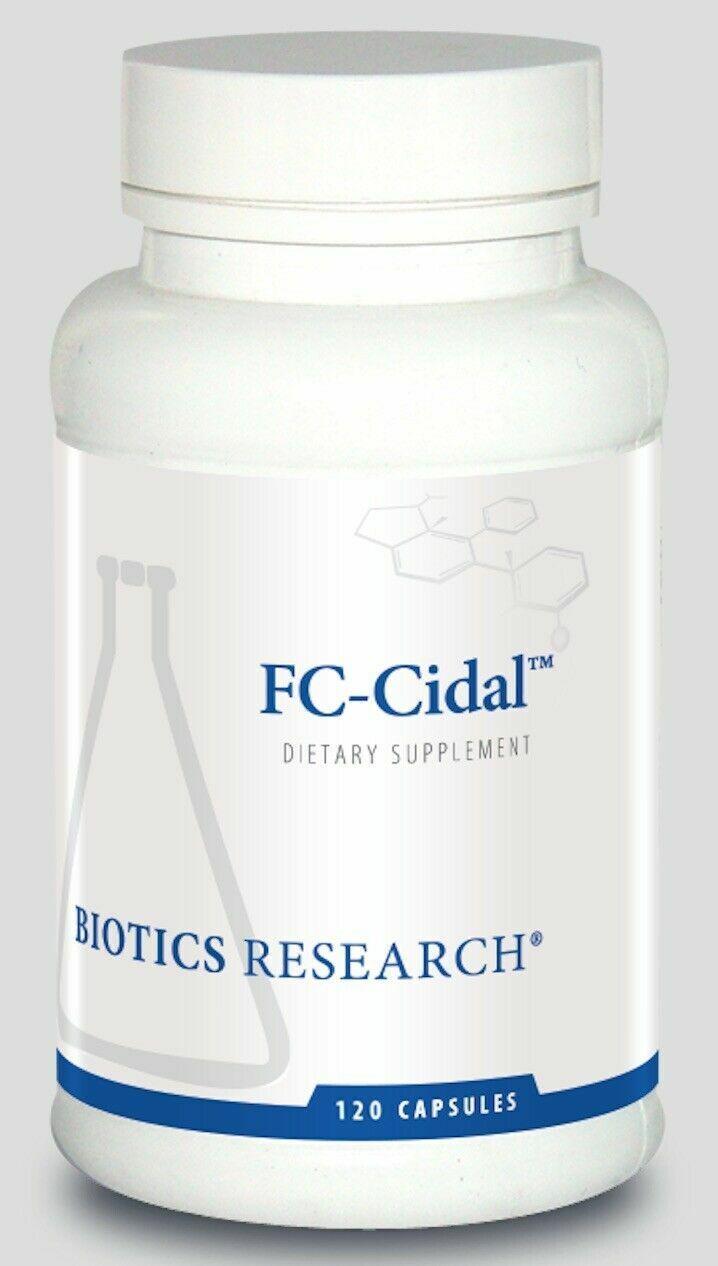 Biotics Research - FC-Cidal - antimicrobial and antiviral -  FAST SHIP - 120 cap