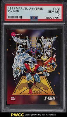 1992 Marvel Universe X-Men 179 PSA 10 GEM MINT - $40.99