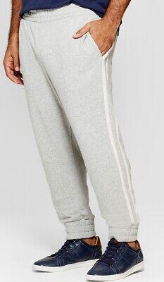 Mens Big & Tall Knit Jogger Lounge Pants Black Gray 4XB 5XB 4XBT 5XBT Choice NEW ()