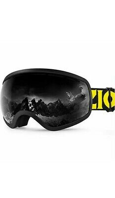 ZIONOR X10 Ski Snowboard Snow Goggles OTG for Men Women Youth Anti-Fog UV Protec