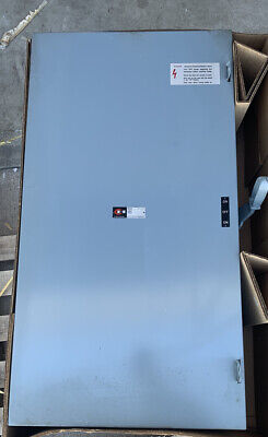 Cutler Hammer 600a Amp Manual Transfer Switch Disconnect 3-phase 240v