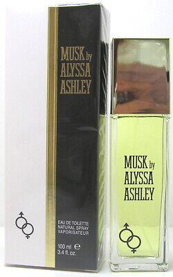 Musk by Alyssa Ashley EDT Eau de Toilette Spray 100 ml