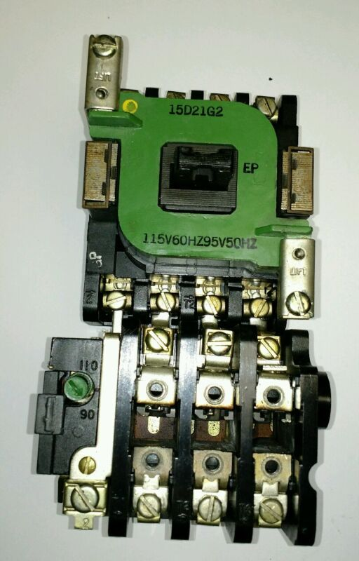 Motor Starter with GE Starter Solenoid Operating Coil 15d21g2