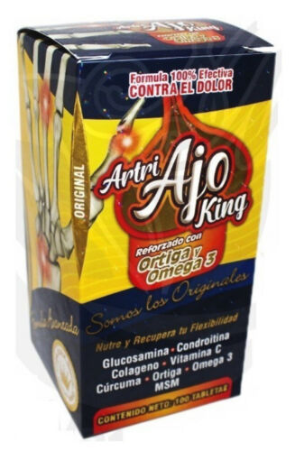 ARTRI AJO KING! 100%ORIGINAL 100 Tabs ORIGINAL  Seller 🇺🇸 FAST SHIPPING