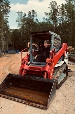Track Loader 2018 Takeuchi Tl10v2 1200 Hrs