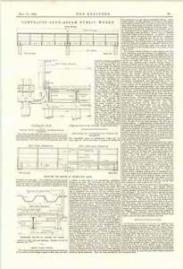 1895 Assam State Railway Bridges Contracts Underground Work Glasgow