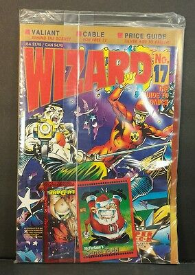 Wizard No.17 The Guide to Comics Jan 1993 Factory Sealed