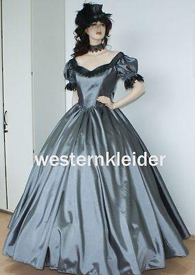 Westernkleid Biedermeierkleid Südstaatenkleid Civil War Kleid KT241