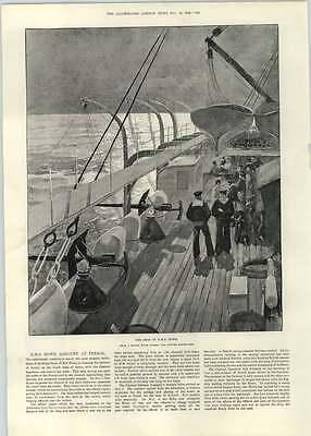 1892 Hms Howe Aground At Ferrol John Dryden William Davenant Thomas Shadwell