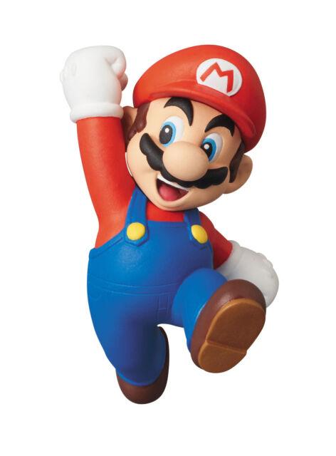 MEDICOM x NINTENDO - NEW SUPER MARIO BROS. Wii MARIO UDF 6cm MINI FIGURE (NEW)