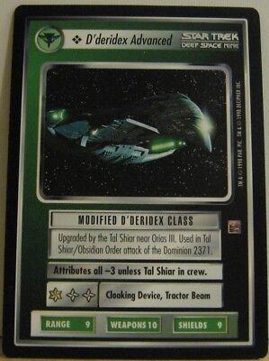 Star Trek TNG CCG Blaze of Glory Goraxus Rare Card
