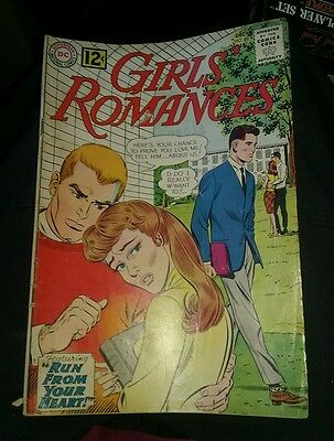 GIRLS' ROMANCES #88 DC COMICS ROMANCE VG LOT RUN SET COLLECTION MOVIE SILVER AGE