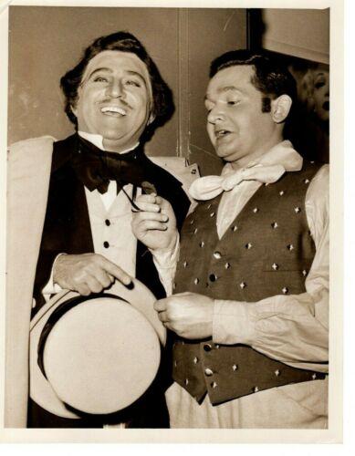 Robert Merrill and Cesare Valletti Opera Original Press Photo 1954 Atlanta