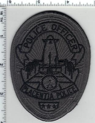 For sale Placentia Police (California) Subdued Police Officer Shirt/Jacket Patch - new