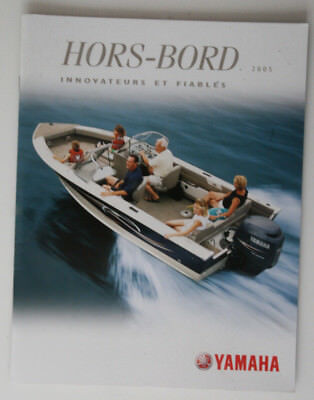 YAMAHA Outboards 2005 dealer brochure - French - Canada - ST2003000418