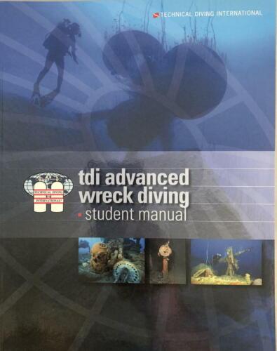 TDI Advanced Wreck Diving manual