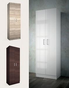 Mobile colonna legno 2 ante armadietto arredo bagno lavanderia moderno motril ebay - Armadietto bagno mondo convenienza ...