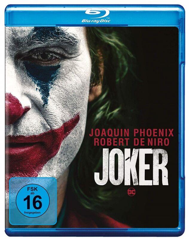 Joker Blu-ray mit Joaquin Phoenix NEU OVP Vorbestellung