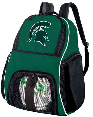 Michigan State SOCCER BACKPACK or Volleyball GEAR Bag - TOP - Michigan State Backpack