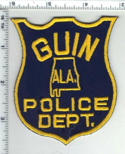 Guin Police (Alabama) 3rd Issue Shoulder Patch