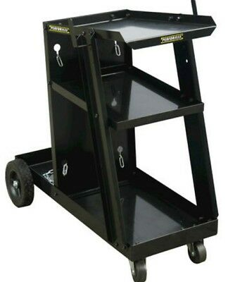 Welding Cart Heavy Duty Steel Garage Shop Mobile Design Welder Stand Storage