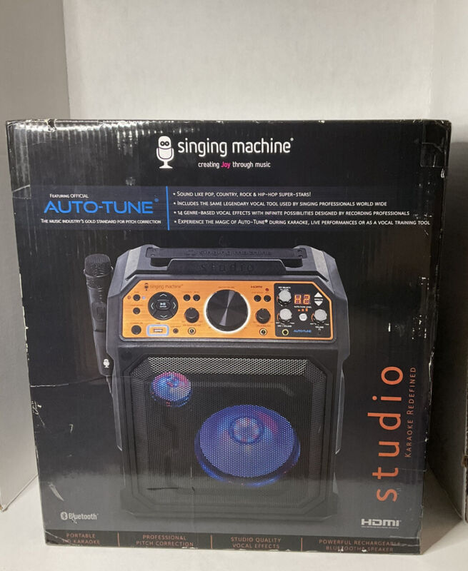 Singing Machine Studio All-In-One Entertainment System With Auto Tune