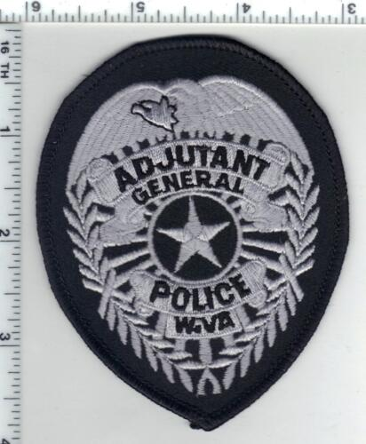 Adjutant General Police (West Virginia) 1st Issue Shirt/Jacket Patch