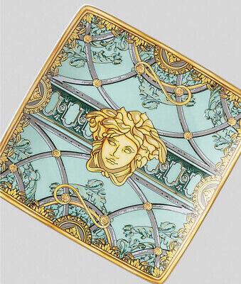 VERSACE ASH TRAY MEDUSA GOLD PRESTIGE LUXURY Home Birthday GIFT SALE New in box