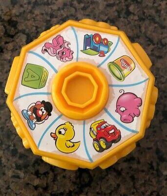 Play-Doh Mega Fun Factory Conveyor Yellow Toy Wheel Stamper Replacement - Play Doh Mega Fun Factory