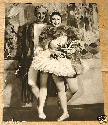 MARGOT FONTEYN ROB HELPMANN VINTAGE ORIGINAL ASSOCIATED PRESS PHOTOGRAPH 1950s